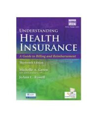 Test Bank for Understanding Health Insurance 13th Edition by Green