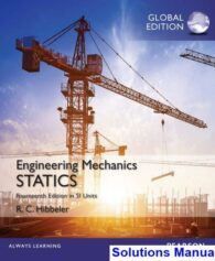 Engineering Mechanics Statics in SI Units 14th Edition Hibbeler Solutions Manual