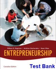 Entrepreneurship 2008 1st Edition Bygrave Test Bank