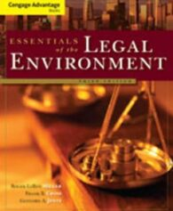 Test Bank for Essentials of the Legal Environment, 3rd Edition: Miller