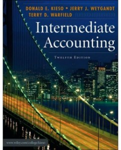 Test Bank for Intermediate Accounting, 12th Edition: Donald E. Kieso