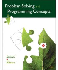 Test Bank for Problem Solving and Programming Concepts, 9/E 9th Edition : 0132492644