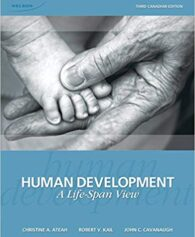 Test Bank for Human Development a Life Span View Third Edition