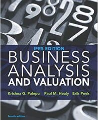 Solution Manual for Business Analysis and Valuation: IFRS edition