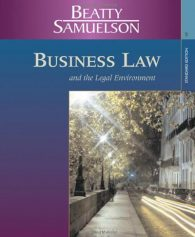 Solution Manual for Legal Environment 4th Edition by Beatty