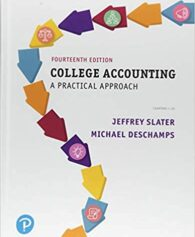 Solution Manual for College Accounting A Practical Approach 14th by Slater