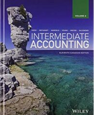Solution Manual for Intermediate Accounting, Volume 2, 12th Canadian by Kieso