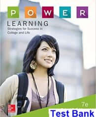 POWER Learning Strategies for Success in College and Life 7th Edition Feldman Test Bank