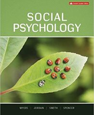 Test Bank for Social Psychology 7th Canadian by Myers