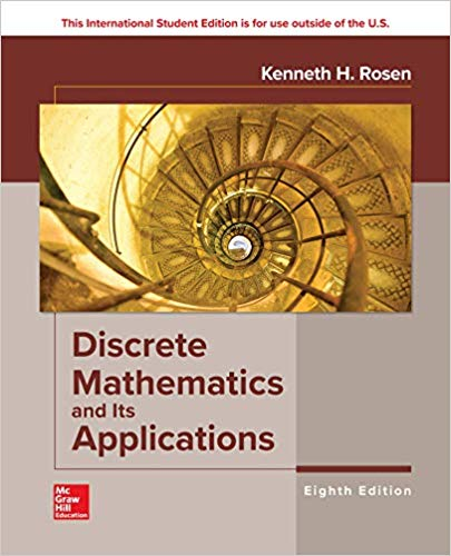 Test Bank for Discrete Mathematics and Its Applications 8th Edition by Rosen