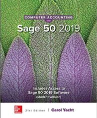 Solution Manual for Computer Accounting with Sage 21st by Yacht