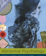 Test Bank for Abnormal Psychology 10th Edition Comer 9781319066949
