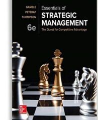 Test Bank For Essentials Of Strategic Management The Quest For Competitive Advantage 6th Edition