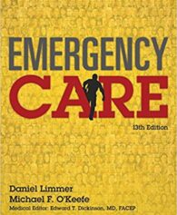 Test Bank for Emergency Care (EMT) 13th Edition