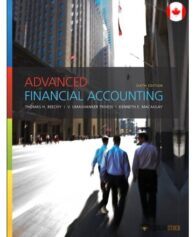 Test Bank for Advanced Financial Accounting, 6/E 6th Edition : 013703038X : Canada