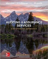 Test Bank for Loose-Leaf for Auditing & Assurance Services: A Systematic Approach 11th ed. Edition