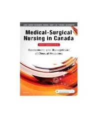 Test Bank for Medical Surgical Nursing in Canada 4th Edition By Lewis