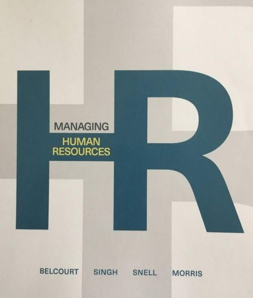 Test Bank for Managing Human Resources, 9th Canadian by Belcourt
