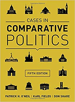 Test Bank for Cases in Comparative Politics (Fifth Edition) Fifth Edition