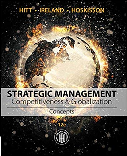 Test Bank for Strategic Management Competitiveness and Globalization 13th by Hitt