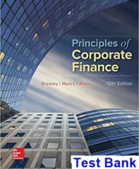 Principles of Corporate Finance 12th Edition Brealey Test Bank