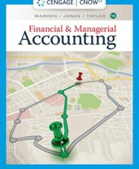 Solution Manual for Financial & Managerial Accounting 15th by Warren