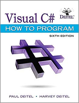Solution Manual for Visual C# How to Program (6th Edition) (Deitel Series) 6th Edition