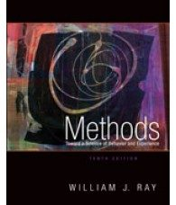 Test Bank for Methods Toward a Science of Behavior and Experience, 10th Edition