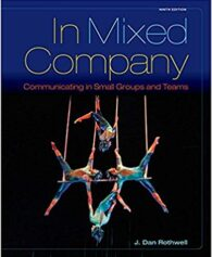 Test Bank for In Mixed Company: Communicating in Small Groups 9th Edition