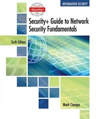 Test Bank For CompTIA Security+ Guide to Network Security Fundamentals – Standalone Book 6th Edition