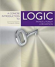Test Bank for A Concise Introduction to Logic 13th Edition