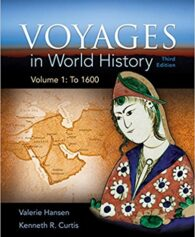 Test bank for Voyages in World History Volume 1 3rd Edition by Hansen