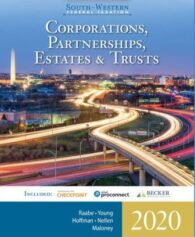 Solution Manual for South-Western Federal Taxation 2020: Corporations, Partnerships, Estates and Trusts, 43rd Edition, William A. Raabe, ISBN-10: 0357109163, ISBN-13: 9780357109168