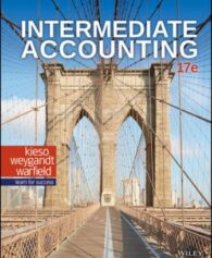 Test Bank for Intermediate Accounting, 17th Edition, Donald E. Kieso, ISBN: 111950368X, ISBN: 9781119503682