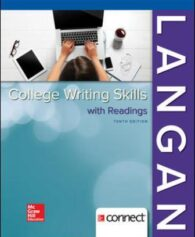 Test Bank for College Writing Skills with Readings, 10th Edition, By John Langan, Zoe Albright, ISBN10: 1259680932, ISBN13: 9781259680939