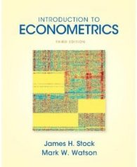 Introduction to Econometrics Stock Watson 3rd Edition Solutions Manual