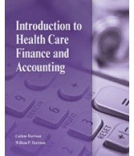 Solution Manual for Introduction to Health Care Finance and Accounting, 1st Edition