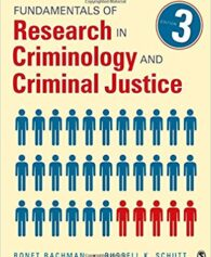 Test Bank for Fundamentals of Research in Criminology and Criminal Justice Third Edition