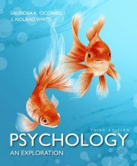 Test Bank for Psychology: An Exploration 3rd Edition Ciccarelli ISBN-10: 0134078799, ISBN-13: 9780134078793