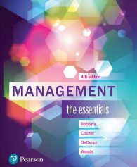 Test Bank for Management The Essentials 4th AUS Edition by Robbins
