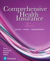 Solution Manual for Comprehensive Health Insurance: Billing, Coding, and Reimbursement, 3rd Edition, Deborah Vines, Ann Braceland, Elizabeth Rollins, Susan Miller, ISBN-10: 013445877X, ISBN-13: 9780134458779