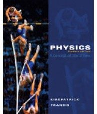 Solution Manual for Physics A Conceptual World View, 7th Edition