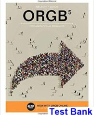 ORGB 5th Edition Nelson Test Bank