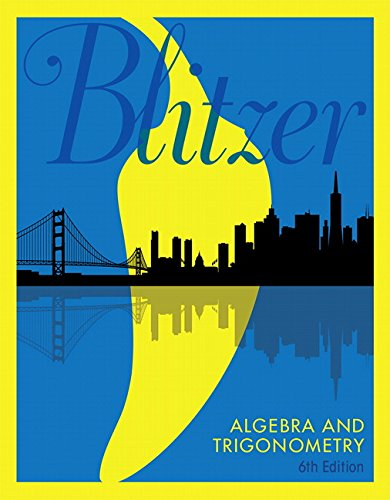 Test Bank For Algebra and Trigonometry (6th Edition) 6th Edition