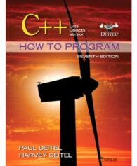 Test Bank for C++ How to Program: Late Objects Version, 7/E 7th Edition : 0132165414