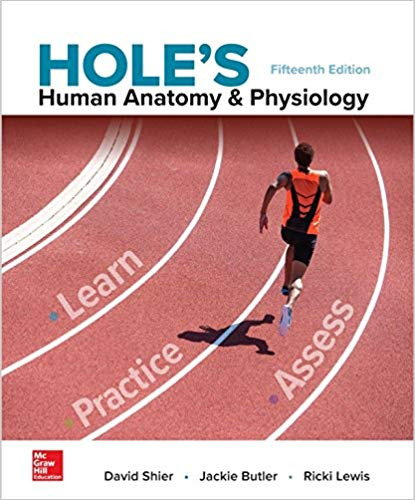 Solution Manual for Hole's Human Anatomy & Physiology 15th by Shier