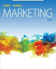 Test Bank for Marketing, 20th Edition, William M. Pride, O. C. Ferrell, ISBN-10: 1337910597, ISBN-13: 9781337910590
