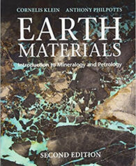 Earth Materials Introduction to Mineralogy and Petrology 2nd Klein Solution Manual
