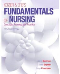 Test Bank for Kozier and Erbs Fundamentals of Nursing 10th Edition by Berman