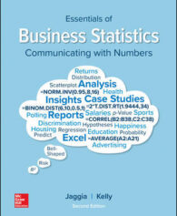 Solution Manual for Essentials of Business Statistics 2nd by Jaggia